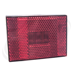 LED Clearance Light red single stud
