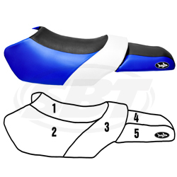 Yamaha ELite Seat Cover 1997-1999 GP1200/1998-2000 GP800/1999-2000 GP760/1997-1999 Wave Runner 760