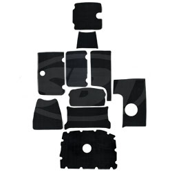 2006-07 SR210, 2006-10 AR210 Interior Mat Kit