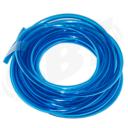 Fuel Line -25  1/ 4 Clear Blue